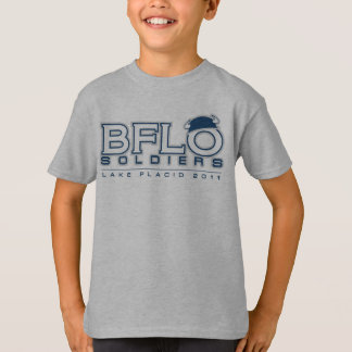 Buffalo Soldiers Lacrosse Kid's T-Shirt Design 2
