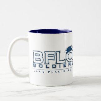 Buffalo Soldiers Lacrosse Mug Design
