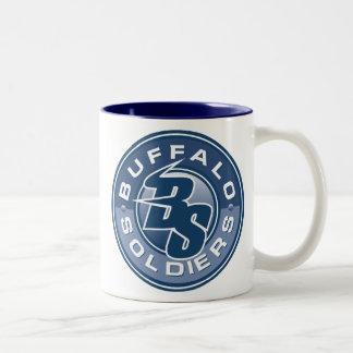 Buffalo Soldiers Lacrosse Mug Design 2