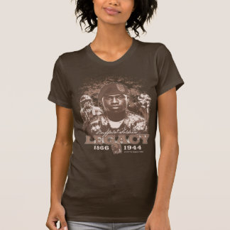 Buffalo Soldiers Legacy on Women's Brown T-Shirt