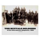 Buffalo Soldiers of the 25th Regiment Poster