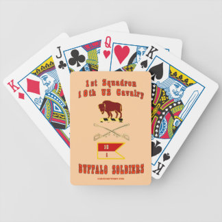 BUFFALO SOLDIERS PLAYING CARDS