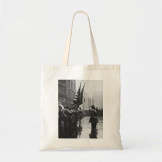 """Buffalo"" Soldiers Returning Colors - 1919 Budget Tote Bag"