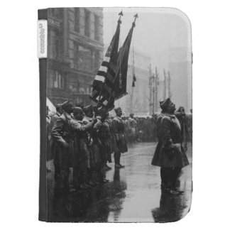 """Buffalo"" Soldiers Returning Colors - 1919 Kindle Cover"