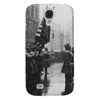 """Buffalo"" Soldiers Returning Colors - 1919 Galaxy S4 Case"