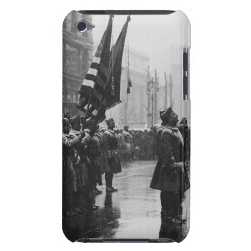 """""""Buffalo"""" Soldiers Returning Colors - 1919 iPod Touch Cases"""
