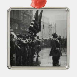 """Buffalo"" Soldiers Returning Colors - 1919 Ornaments"