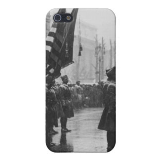 """Buffalo"" Soldiers Returning Colors - 1919 iPhone 5 Case"