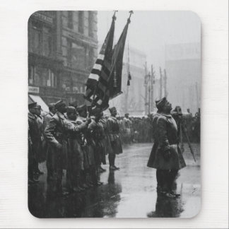 Buffalo Soldiers Returning Colors - 1919 Mouse Pad
