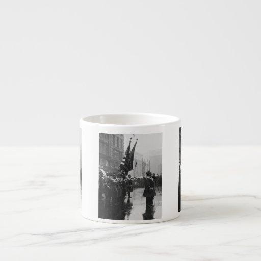 """Buffalo"" Soldiers Returning Colors - 1919 Espresso Mug"