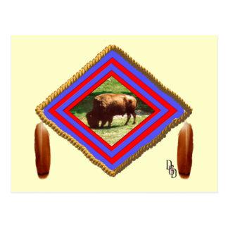 Buffalo spirit postcard