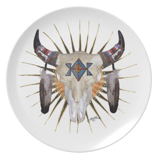 Buffalo Star Collector Plate