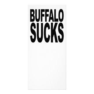 Buffalo Sucks Rack Card