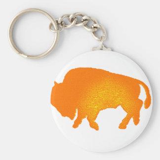Buffalo Sun Key Ring