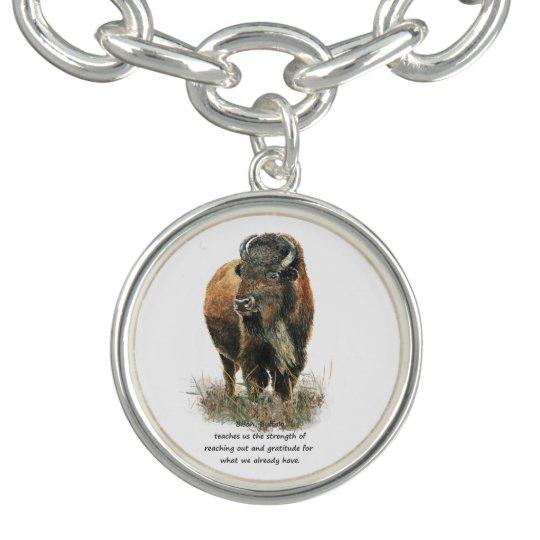 Buffalo totem Inspirational Animal Spirit Guide