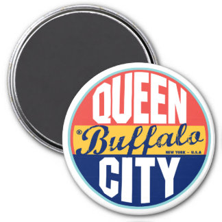 Buffalo Vintage Label Magnet