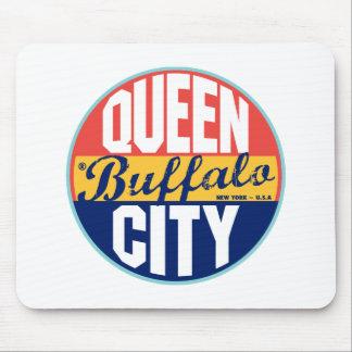 Buffalo Vintage Label Mouse Mat