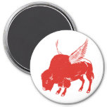 Buffalo Wings Refrigerator Magnet