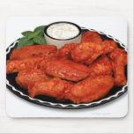Buffalo wings with blue cheese