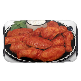 Buffalo wings with blue cheese tough iPhone 3 cover