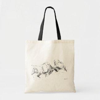 Buffaloes Budget Tote Bag