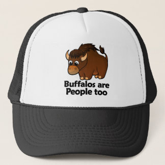 Buffalos are People too Trucker Hat