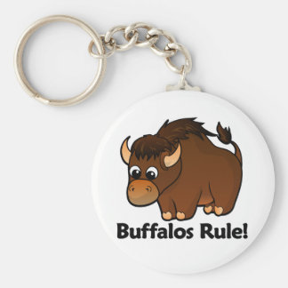 Buffalos Rule! Key Ring