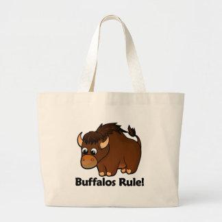 Buffalos Rule! Large Tote Bag