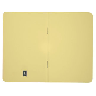 Buffed Leather Durable Single Color Journal