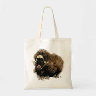 Büffel buffalo tote bag