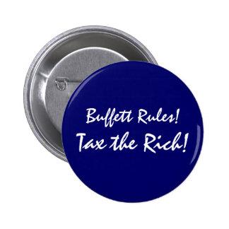 Buffett Rules Pinback Buttons