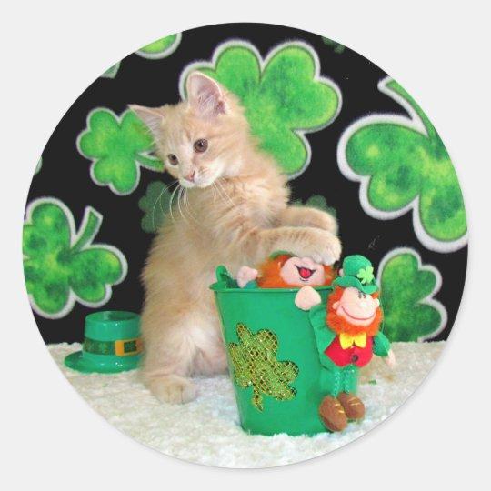 Buffington's St. Patrick's Day Stickers