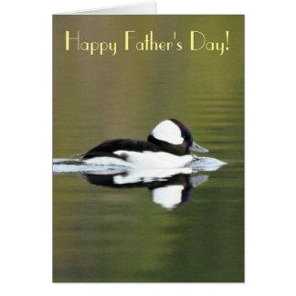 Bufflehead Duck Father's Day Card