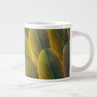 Buffon'S Macaw Feathers Large Coffee Mug