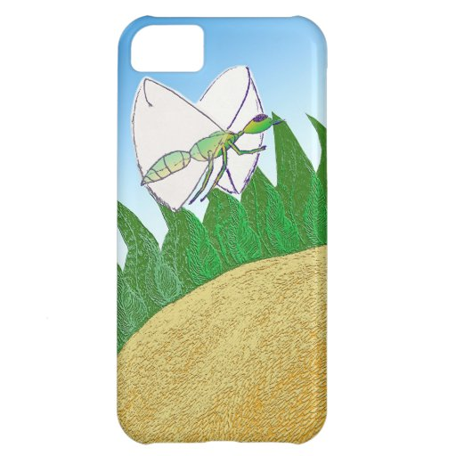 Bug and Flower iPhone 5C Case
