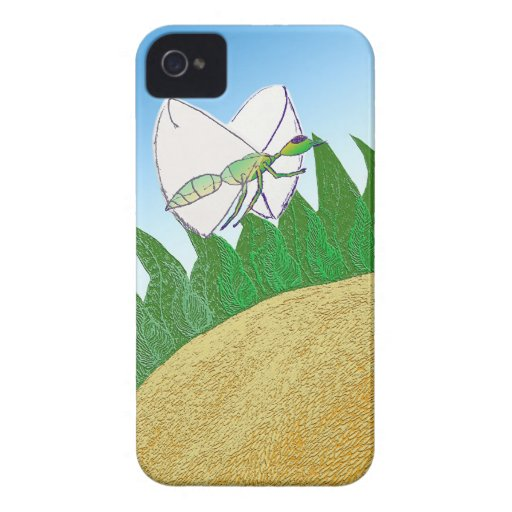 Bug and Flower Case-Mate iPhone 4 Cases