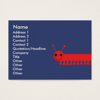 Bug - Chubby Business Card