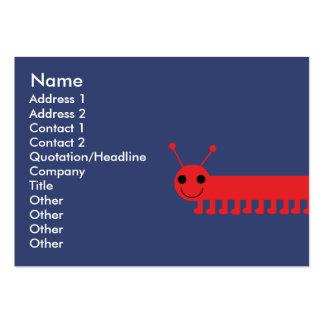 Bug - Chubby Business Card Templates