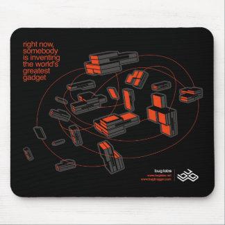 BUG Cloud Mousepad - black