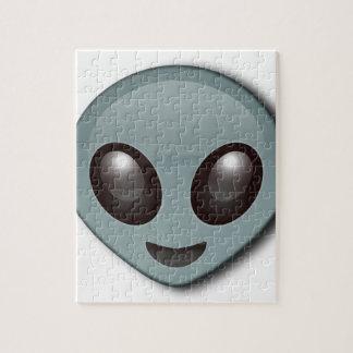 Bug Eyed Alien Jigsaw Puzzle