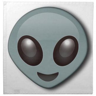 Bug Eyed Alien Napkin