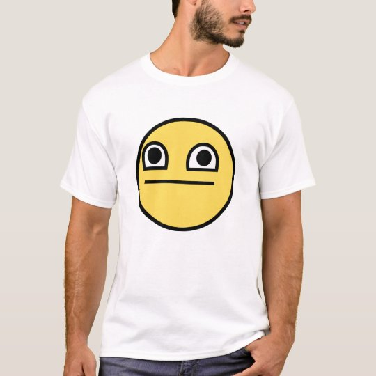 Bug-eyed Awesome Smiley T-Shirt