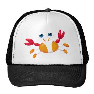 Bug-eyed Crab Mesh Hat