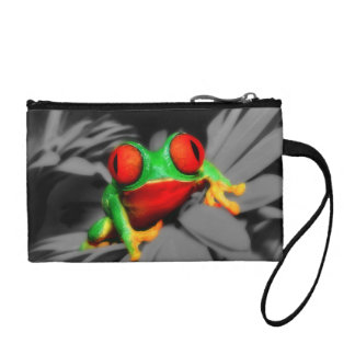 Bug-Eyed Frog Coin Purse