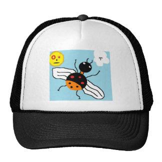 bug mesh hat