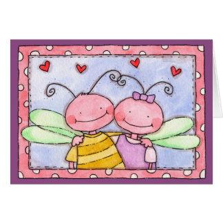 Bug Hug - Greeting Card