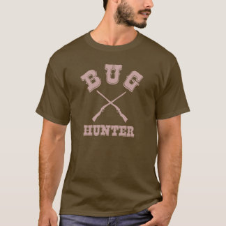 BUG HUNTER - Brown Western Style Test Engineer Tee