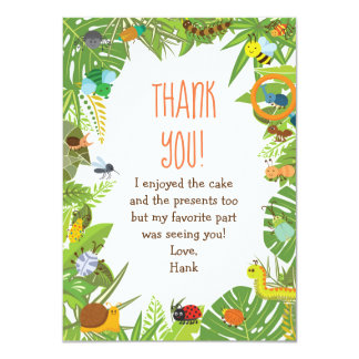 Bug Insect Thank You Cards
