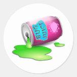 Bug Juice Round Sticker