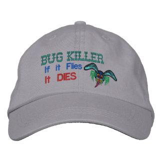 Bug Killer Embroidered Hats